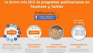 gestionar redes sociales postcron
